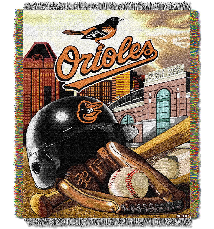Northwest Baltimore Orioles Home Field Advantage Blanket