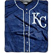 Northwest Kansas City Royals Jersey Raschel Throw Blanket