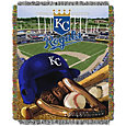 Northwest Kansas City Royals Tapestry Throw