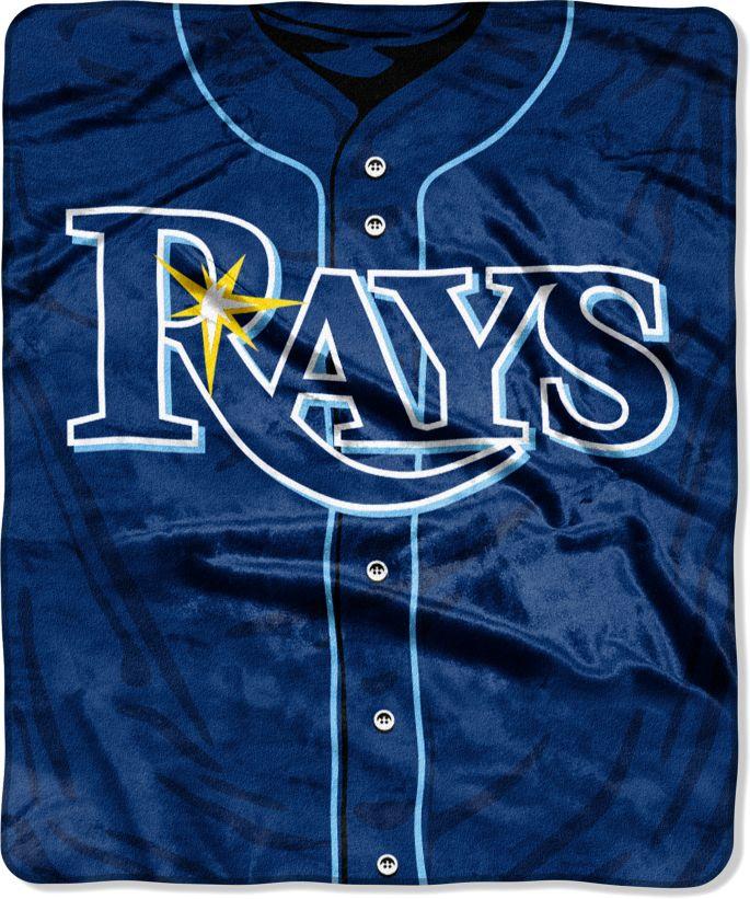 wholesale dealer 04c54 7f511 Northwest Tampa Bay Rays Jersey Raschel Throw Blanket