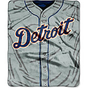 Northwest Detroit Tigers Jersey Raschel Throw Blanket