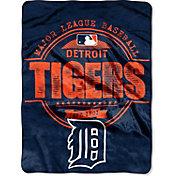 Northwest Detroit Tigers Structure Micro Raschel Throw Blanket