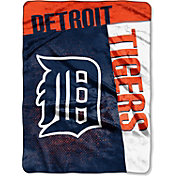 Northwest Detroit Tigers Strike Raschel Throw Blanket