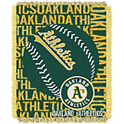 Northwest Oakland Athletics Double Play Blanket