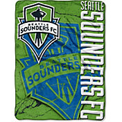 Northwest Seattle Sounders Concrete Micro Raschel Blanket