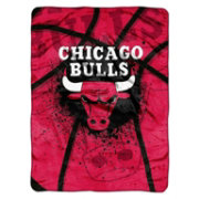 Northwest Chicago Bulls Raschel Shadow Play Blanket