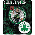 Northwest Boston Celtics Dropdown Raschel Throw Blanket