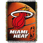 Northwest Miami Heat Photo Real Throw Blanket