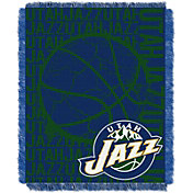 Northwest Utah Jazz Double Play Blanket