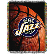 Northwest Utah Jazz Photo Real Throw Blanket