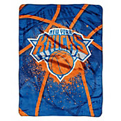 Northwest New York Knicks Raschel Shadow Play Blanket