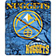 Northwest Denver Nuggets Dropdown Raschel Throw Blanket