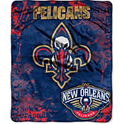 Northwest New Orleans Pelicans Dropdown Raschel Throw Blanket