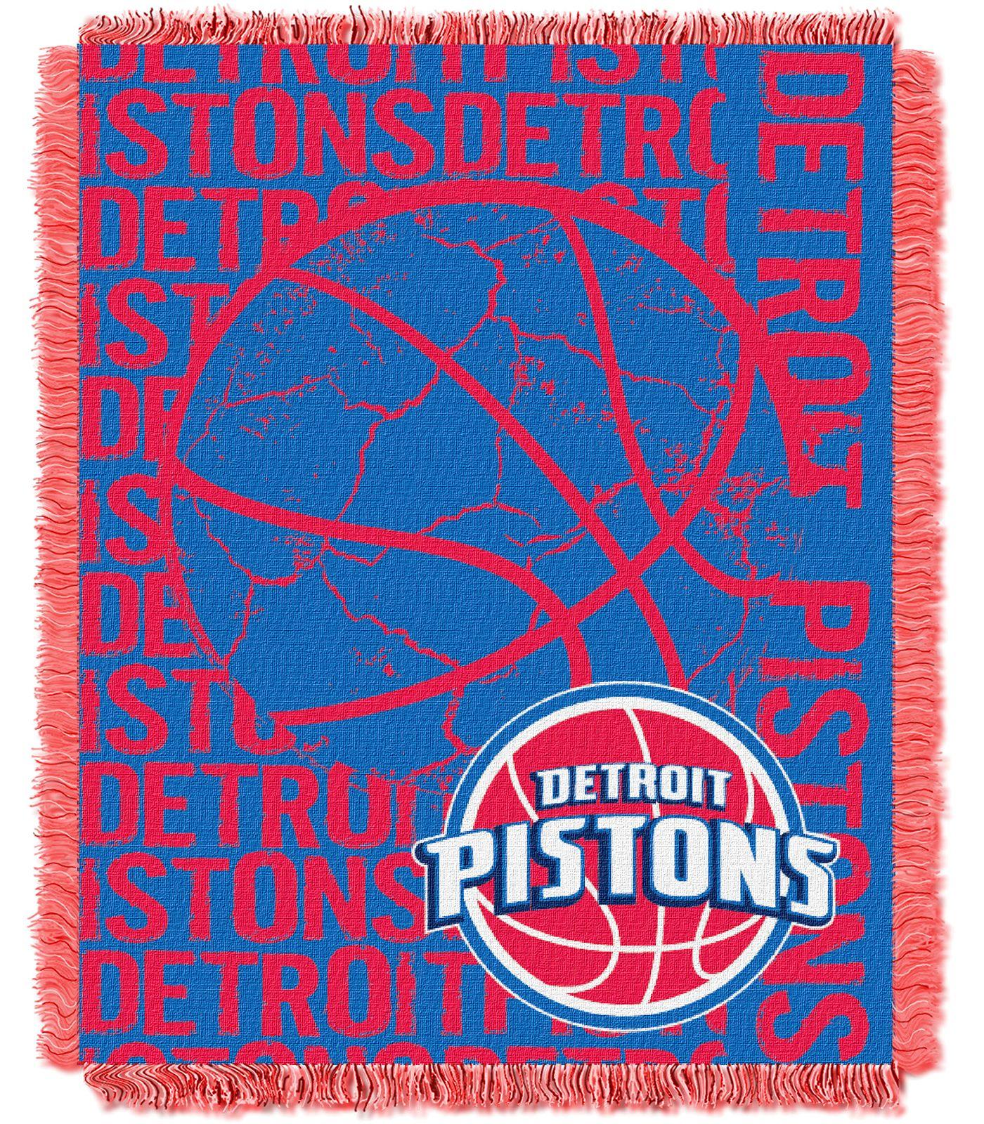 Northwest Detroit Pistons Double Play Blanket