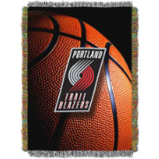 Northwest Portland Trail Blazers Photo Real Throw Blanket