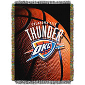 Northwest Oklahoma City Thunder Photo Real Throw Blanket