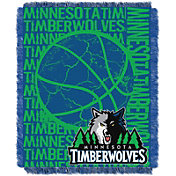 Northwest Minnesota Timberwolves Double Play Blanket