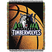 Northwest Minnesota Timberwolves Photo Real Throw Blanket
