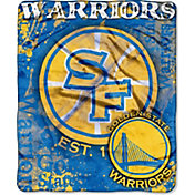 Northwest Golden State Warriors Dropdown Raschel Throw Blanket