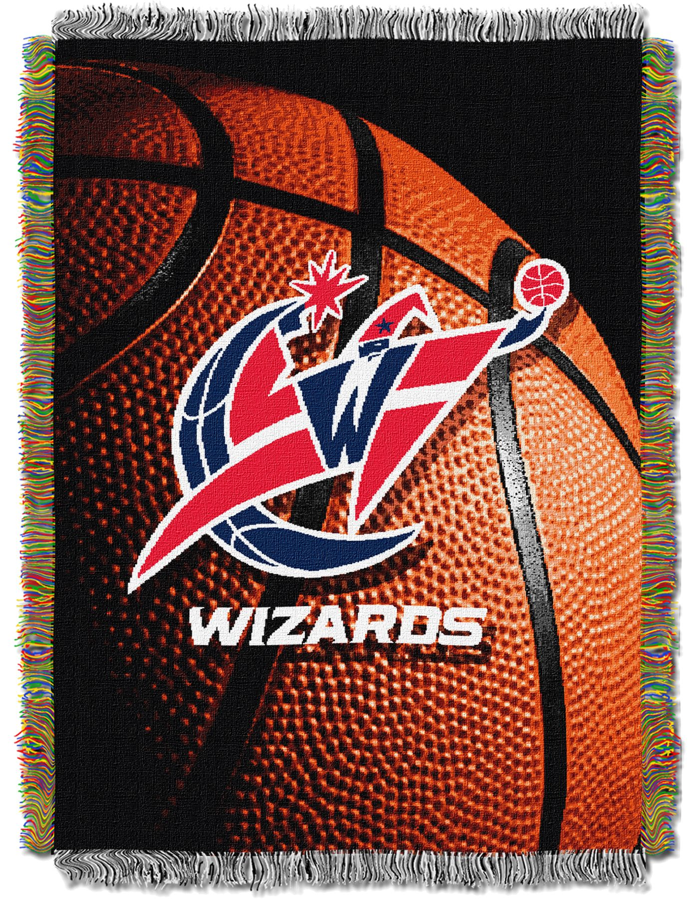 Northwest Washington Wizards Photo Real Throw Blanket