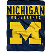 """Northwest Michigan Wolverines 60"""" x 80"""" Blanket"""