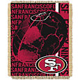 Northwest San Francisco 49ers Double Play Blanket