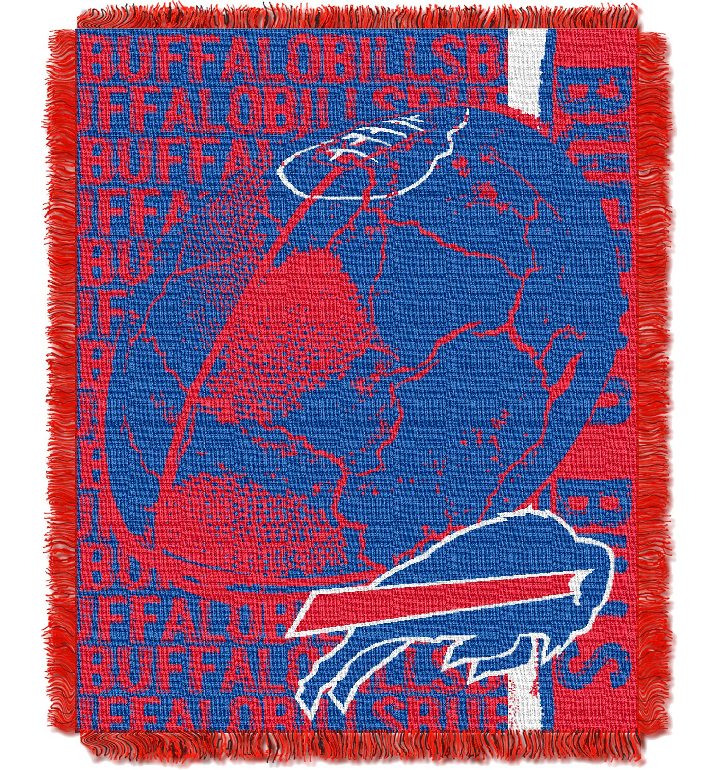 Northwest Buffalo Bills Double Play Blanket