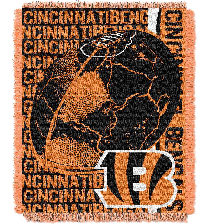 Northwest Cincinnati Bengals Double Play Blanket