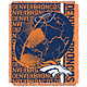 Northwest Denver Broncos Double Play Blanket