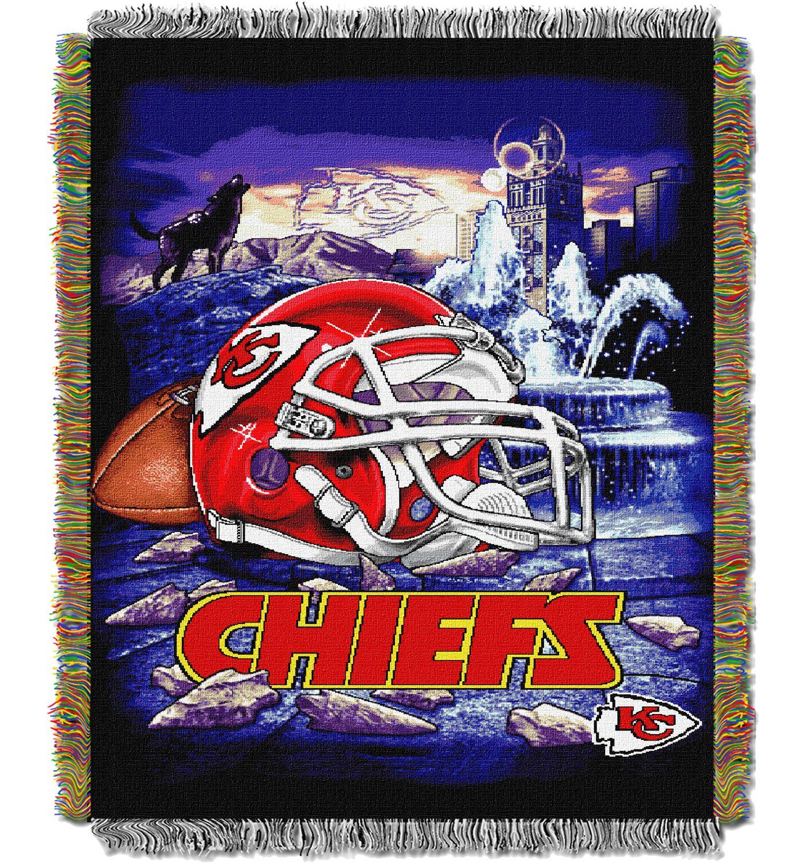 Northwest Kansas City Chiefs HFA Blanket
