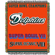 Northwest Miami Dolphins Commemorative Blanket