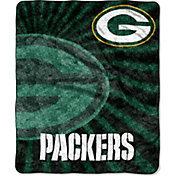 Northwest Green Bay Packers Team-Colored Strobe Sherpa Throw