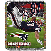 Northwest New England Patriots Rob Gronkowski Player Blanket
