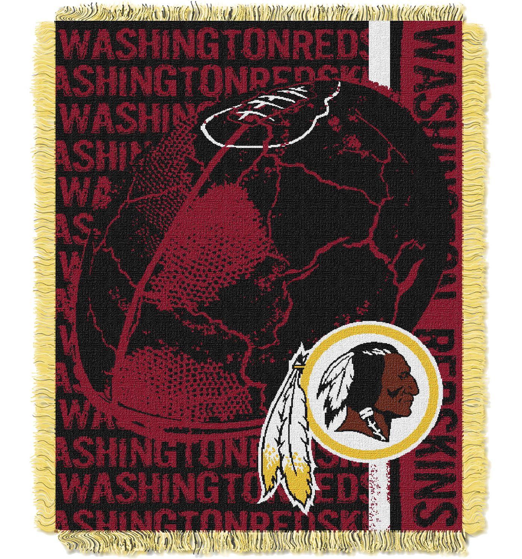 Northwest Washington Redskins Double Play Blanket