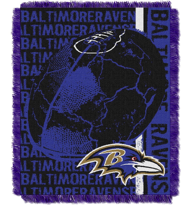 Northwest Baltimore Ravens Double Play Blanket