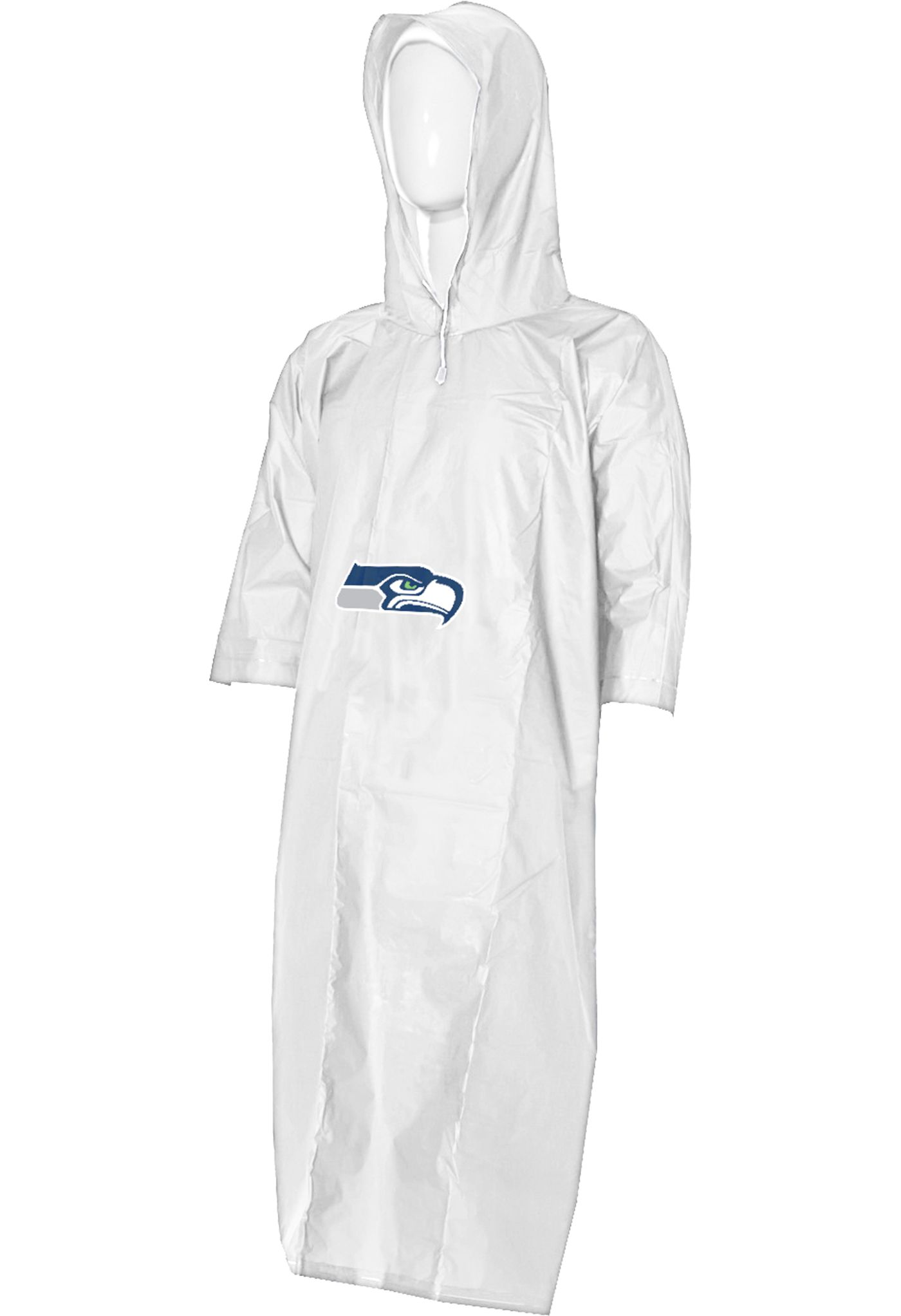 Northwest Seattle Seahawks Clear Poncho