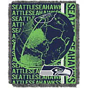 Northwest Seattle Seahawks Double Play Blanket