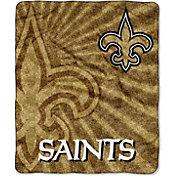 Northwest New Orleans Saints Strobe Sherpa Throw