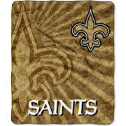 Northwest New Orleans Saints Strobe Sherpa Throw