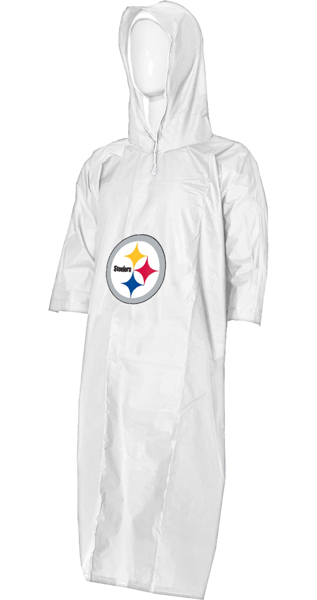 info for 7d40d 62dc7 Northwest Pittsburgh Steelers Clear Poncho