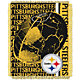 Northwest Pittsburgh Steelers Double Play Blanket