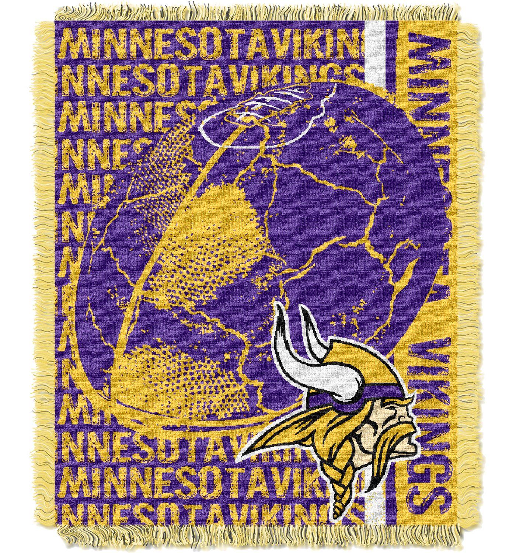Northwest Minnesota Vikings Double Play Blanket