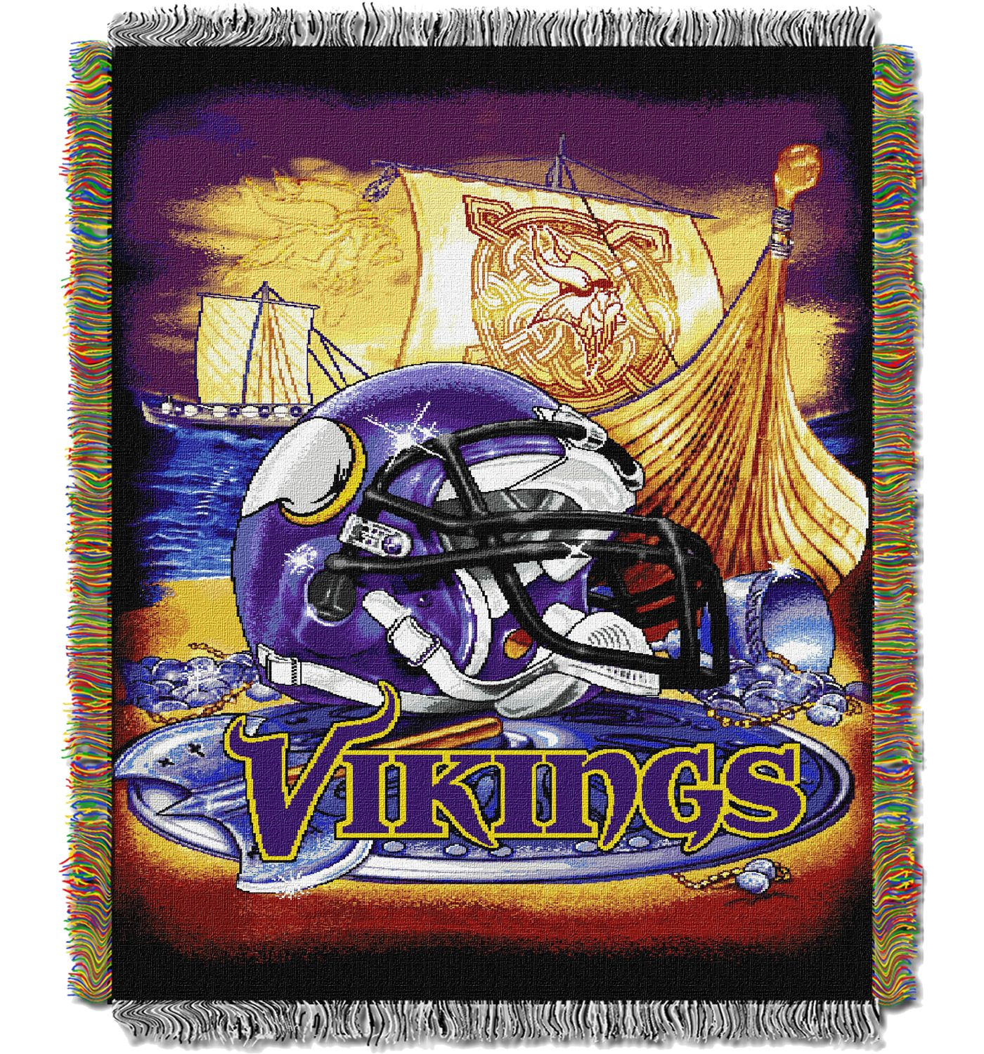 Northwest Minnesota Vikings HFA Blanket