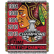 Northwest Chicago Blackhawks 48 in x 60 in Home Ice Advantage Tapestry Throw Blanket