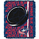 Northwest Columbus Blue Jackets Double Play 48 in x 60 in Jacquard Woven Throw Blanket