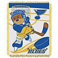 Northwest St. Louis Blues Score Baby 36 in x 46 in Jacquard Woven Throw Blanket