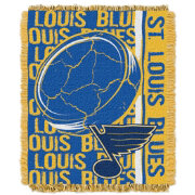 Northwest St. Louis Blues Double Play 48 in x 60 in Jacquard Woven Throw Blanket