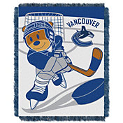 Northwest Vancouver Canucks Score Baby 36 in x 46 in Jacquard Woven Throw Blanket