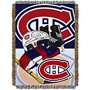 Northwest Montreal Canadiens 48 in x 60 in Home Ice Advantage Tapestry Throw Blanket