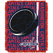 Northwest Washington Capitals Double Play 48 in x 60 in Jacquard Woven Throw Blanket